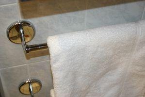 Tips om at organisere små badeværelser
