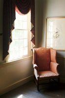 Stof gardiner Tieback stilarter