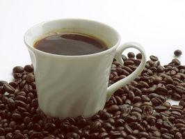 Om kaffe køkken tæpper