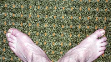 Hvordan til at trimme og installere Shop tæppe