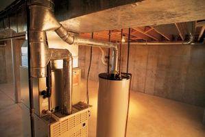 Udluftning problemer med Gas vandsbeholdere