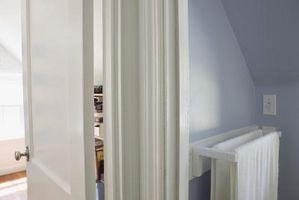 Sådan Drywall en interiør loft Valley spær