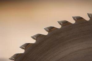 Sådan skærpe cirkulære stål savklinger