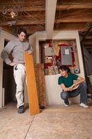 Kan jeg installere laminat gulve Over Vinyl i en kælder?