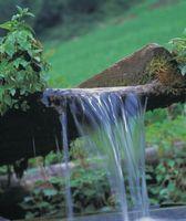 Funktioner af et vandfald Garden