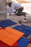 DIY Cement underlag