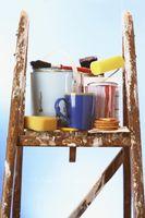 Hvordan man laver maling hærder i hjemmet