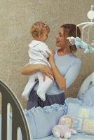 Hjemmelavet håndværk til en Baby værelse