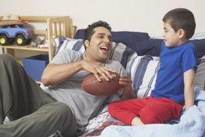 NFL-tema værelse udsmykning idéer