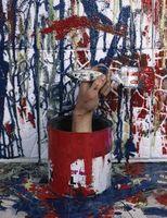 En sjov måde at Splatter Paint dit værelse