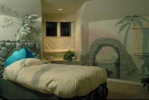 Hvilken slags vægmaleri skal jeg sætte i et soveværelse?