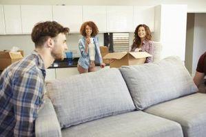 Hvordan at finde ud af, om en Sofa vil passe gennem døren