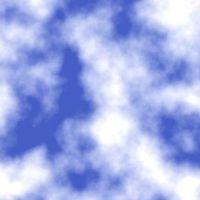 Sådan Paint skyer med en svamp