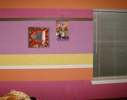 Sådan Paint øverste & lavere mure forskellige nuancer