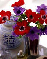 Hvordan til at dekorere dit hjem med levende, tørrede og kunstige blomsterarrangementer
