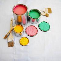 Former for maling til brug på en færdig skrivebord