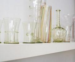 Hvad der skal sættes i glas vaser for køkken dekoration