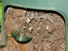 Hvordan du kompost tørretumbler Lint