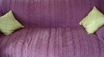 Hvordan jeg fast op sofa puder?