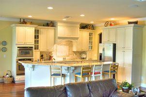Hvide køkken Design Idéer