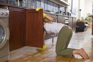 Måder at ordne lejlighed køkken Cabinets