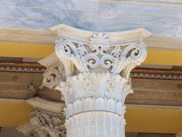 Boligindretning & græske kolonner