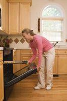 Åbne & lukning ovn, når madlavning