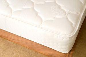 Traditionelle urethan skum i senge