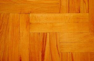 Farver af hårdttræ gulvbelægning pletter