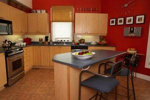 Hvordan man beregner den belysning, du skal bruge til dit køkken
