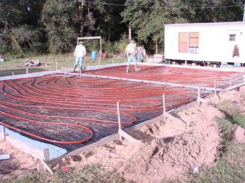 Fordele ved Electric Radiant gulv varme