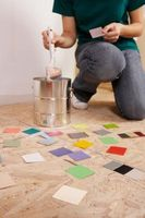 Maleri striber i små rum