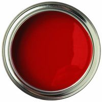 Sådan Paint stue rød