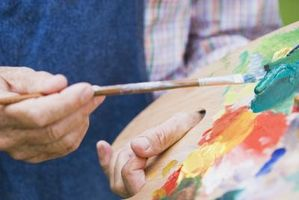 Ideer til dekorere en forstuen med levende liv malerier