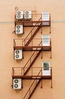 Sådan foretages fejlfinding af en Air Conditioner reolvæg