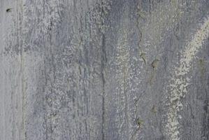 Hvordan man får tørt Latex maling ud beton