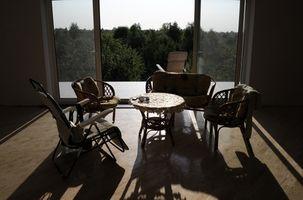 Interiør Design Idéer til et snævert rum med et ulige Layout