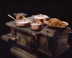 Hvordan at rengøre & polsk støbejern antikke kok komfur