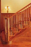 Sådan installeres trappe gelænder & indlæg