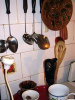 Sådan gør du keramiske fliser Backsplash