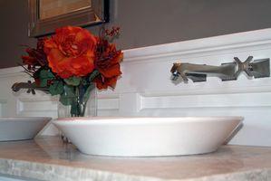 Sådan installeres en skål køkkenvask