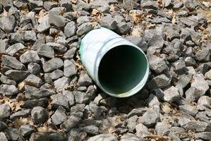Hvordan man kan dræne en brudt kloakrøret