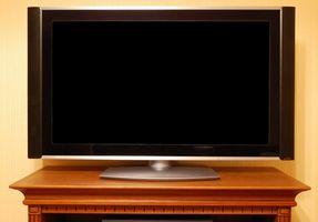 Sådan skjules et stort Plasma-tv