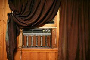 Er varmetabet fra forlader din AC i vinduet lige at efterlade et vindue åbent?