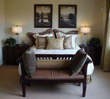 Ideer til dekorere en seng