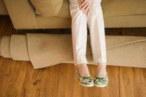 Hvordan man kan binde enderne af en gulvtæppe-rest