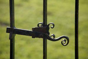 Gate låsen ideer