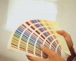 Hvordan til at dekorere med farve i en North står over for soveværelse