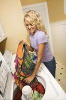 Min vaskemaskine er ikke idet når tøj først blive våd