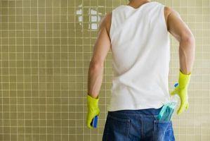 Sådan: mosaik til et brusebad